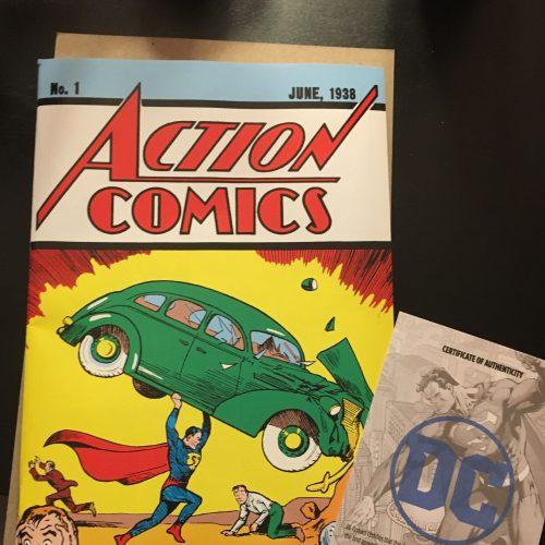 Reprint of Action Comics #1