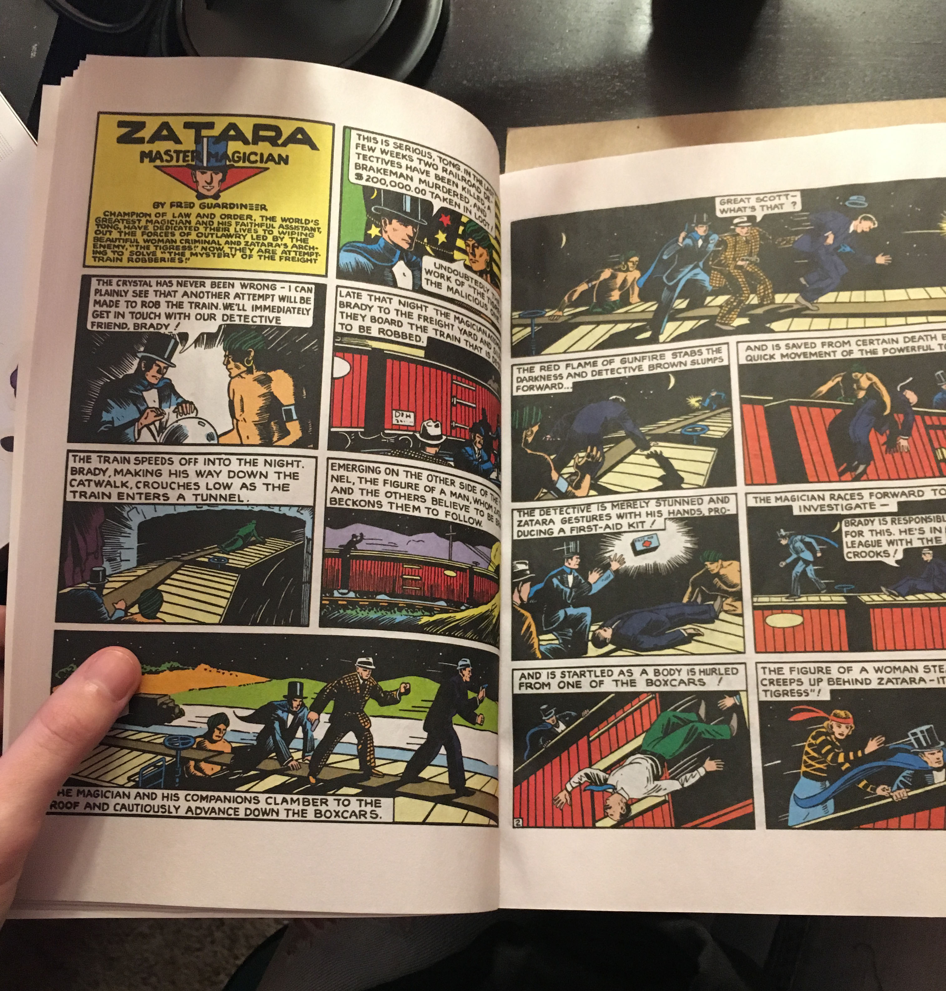 Inside Action Comics #1