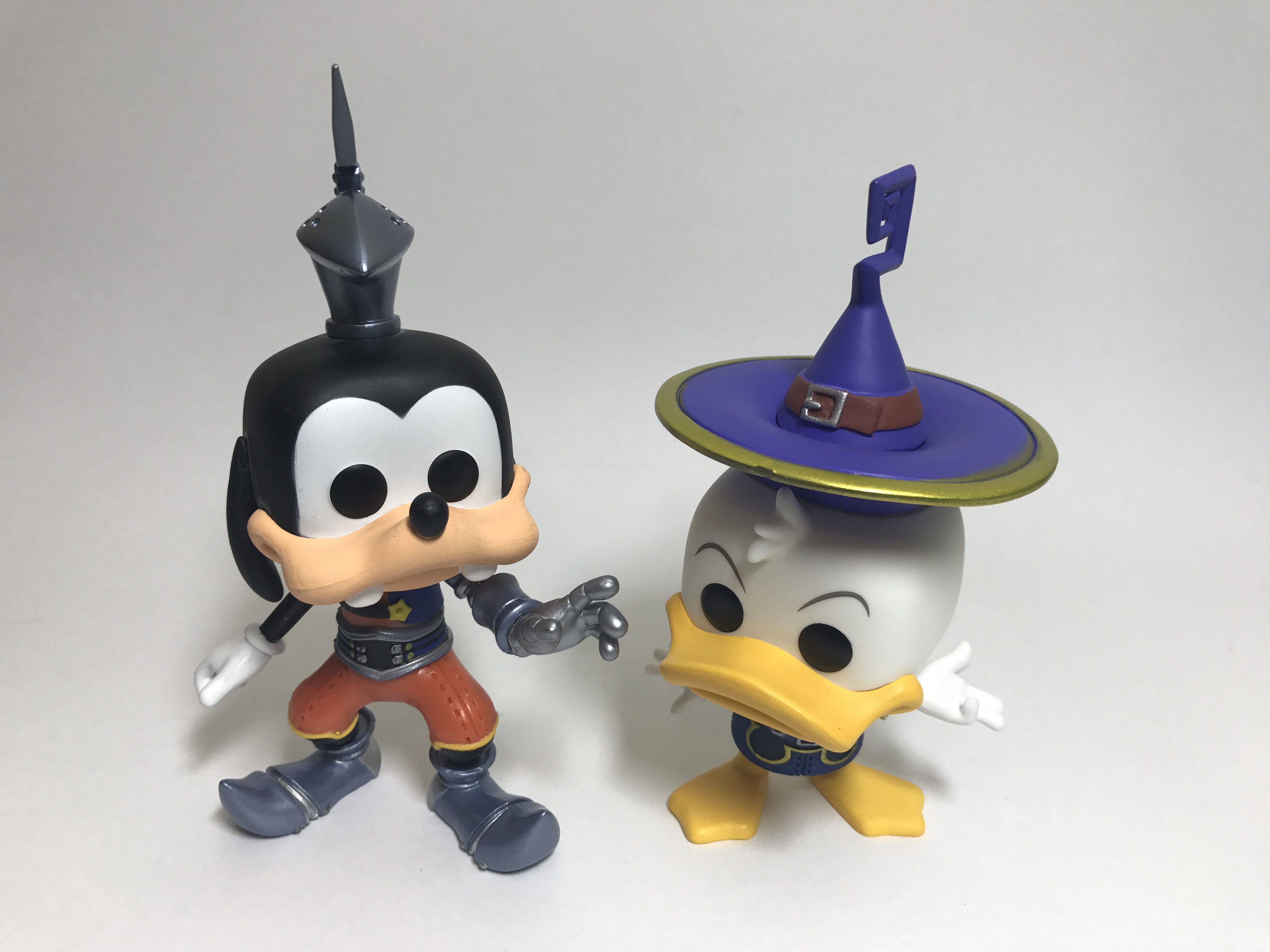 Exclusive Goofy and Donald